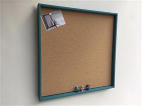 'Vardo' Extra Large Cork Pin Board w. Box Frame