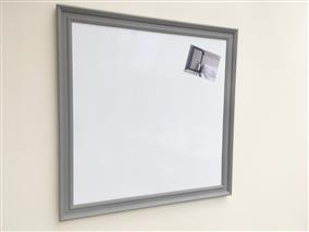 'Mole's Breath' Extra Large Magnetic Whiteboard w. Traditional Frame