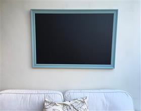 'Dix Blue' Giant Blackboard w. Traditional Frame