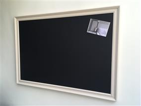 'Oxford Stone' Giant Magnetic Blackboard w. Traditional Frame