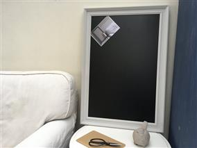 'Pavilion Gray' Extra Large Blackboard w. Traditional Frame