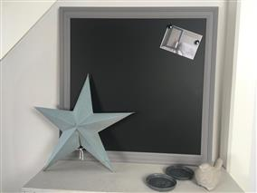 Ready To Ship - Extra Large Magnetic Blackboard w. Grey Frame