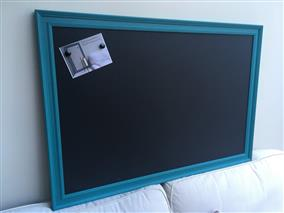 'Vardo' Giant Magnetic Blackboard w. Traditional Frame