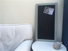 'Pigeon' Large Magnetic Blackboard with Modern Frame