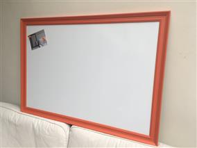 'Charlotte's Locks' Giant Magnetic Whiteboard w. Traditional Frame