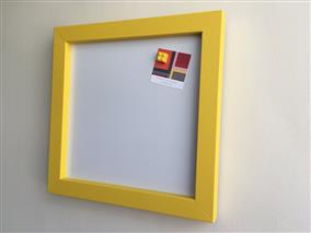 'Babouche' Small Magnetic Whiteboard w. Square Frame