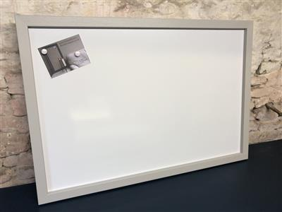 'Pavillion Gray' Giant Magnetic Whiteboard w. Square Frame