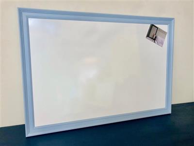 'Lulworth Blue' Giant Magnetic Whiteboard w. Traditional Frame