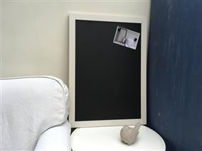 Ready To Ship - Magnetic Blackboard - Choose Your Frame Colour