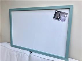 'Dix Blue' Giant Magnetic Whiteboard w. Square Frame