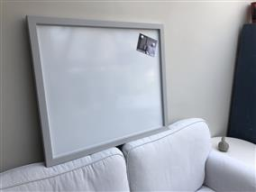 'Pavilion Gray' Magnetic Whiteboard w. Square Frame