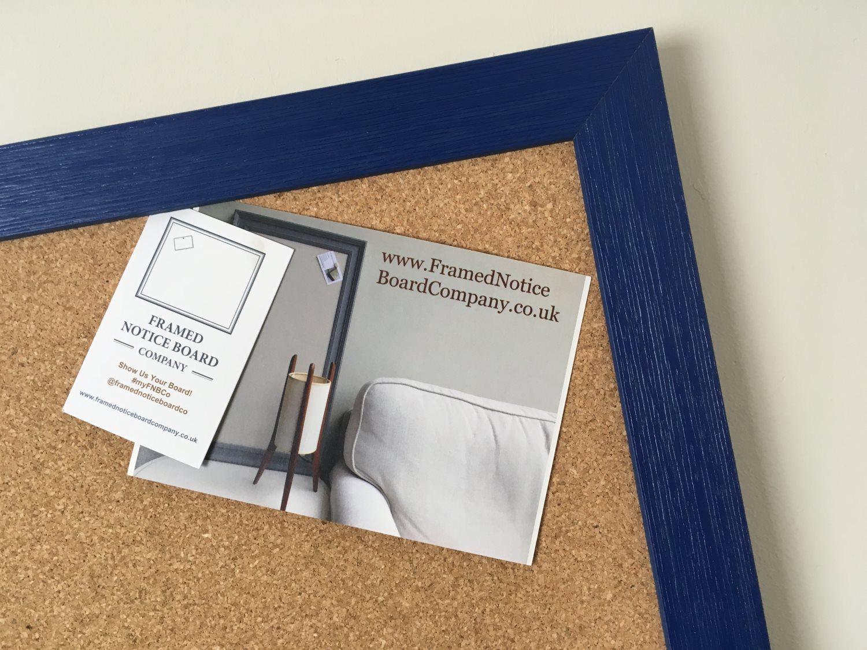 extra large pin board in blue u0026