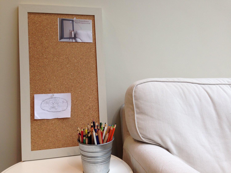 Large cork notice board cork pin board cork bulletin for Modern cork board