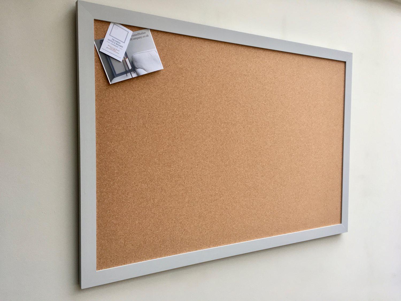 Fabric pin board fabric bulletin board fabric memo board for Modern cork board